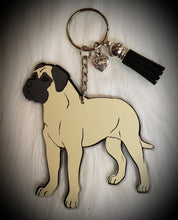 Load image into Gallery viewer, Mastiff Acrylic/Vinyl  Keychain