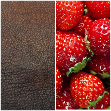 Leather & Strawberry