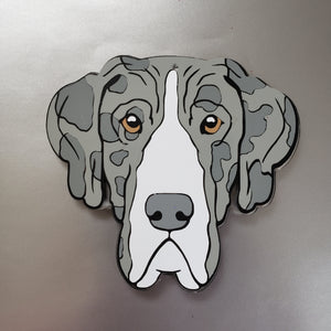 Great Dane Floppy Ear Magnet