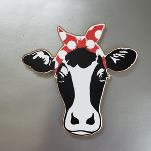 Cow with Bandana Magnet