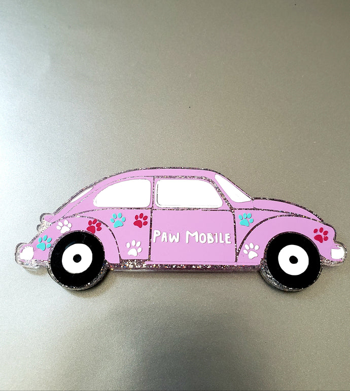 Paw Mobile Magnet