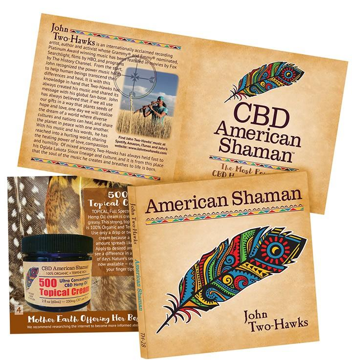 CBD Shaman Music CD