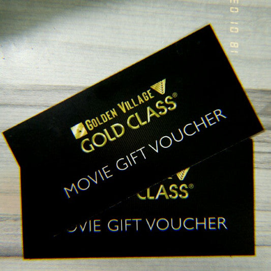 Golden Village Gold Class Tickets x 2pax