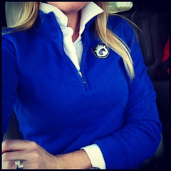 Equestrianista Quarter Zip Sweater