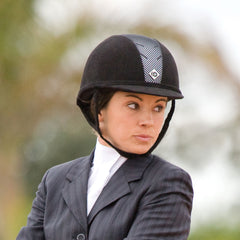 Charles Owen riding helmet from Smartpak.