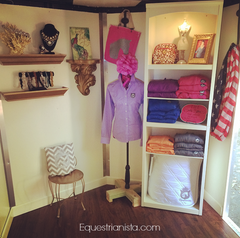 Equestrianista mobile boutique interior.