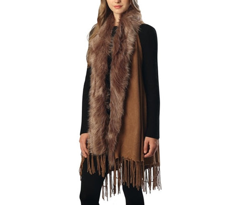 Faux Fox Vest with Fringe from Equestrianista.