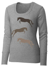 Trio Jumper Sweater by Equestrianista.