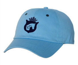 Equestrian Baseball Cap in Baby Blue and Navy by Equestrianista.