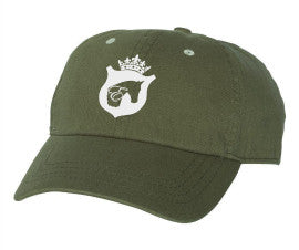 Equestrian Baseball Cap in Army Green by Equestrianista.