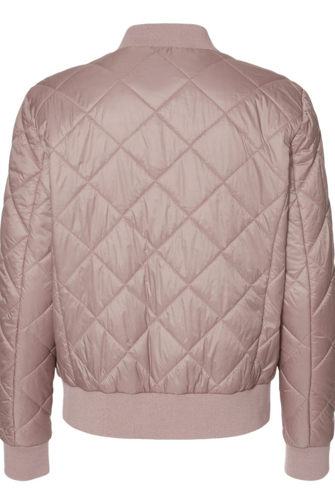 Ladies Quilted Style Bomber Jacket for Equestrians by EQUESTRIANISTA.