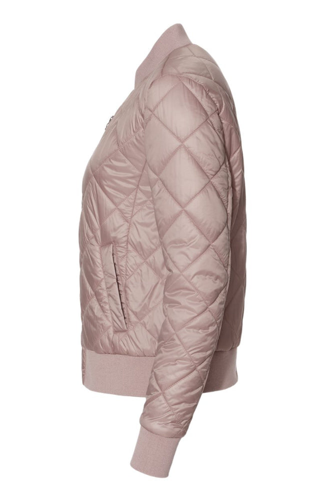 Womens Bomber Jacket in Pink from EQUESTRIANISTA Equestrian Brand Fashion Apparel and Accessories.