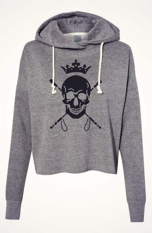 Women's Equestrian Skull Sweatshirt Hoodie by Equestrianista Fashion Apparel and Accessories.