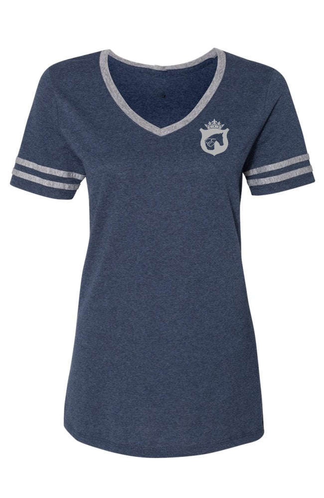 Women's Varsity Equestrian T-Shirt by Equestrianista.