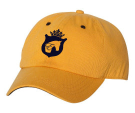 Equestrian Baseball Cap in Yellow by Equestrianista.