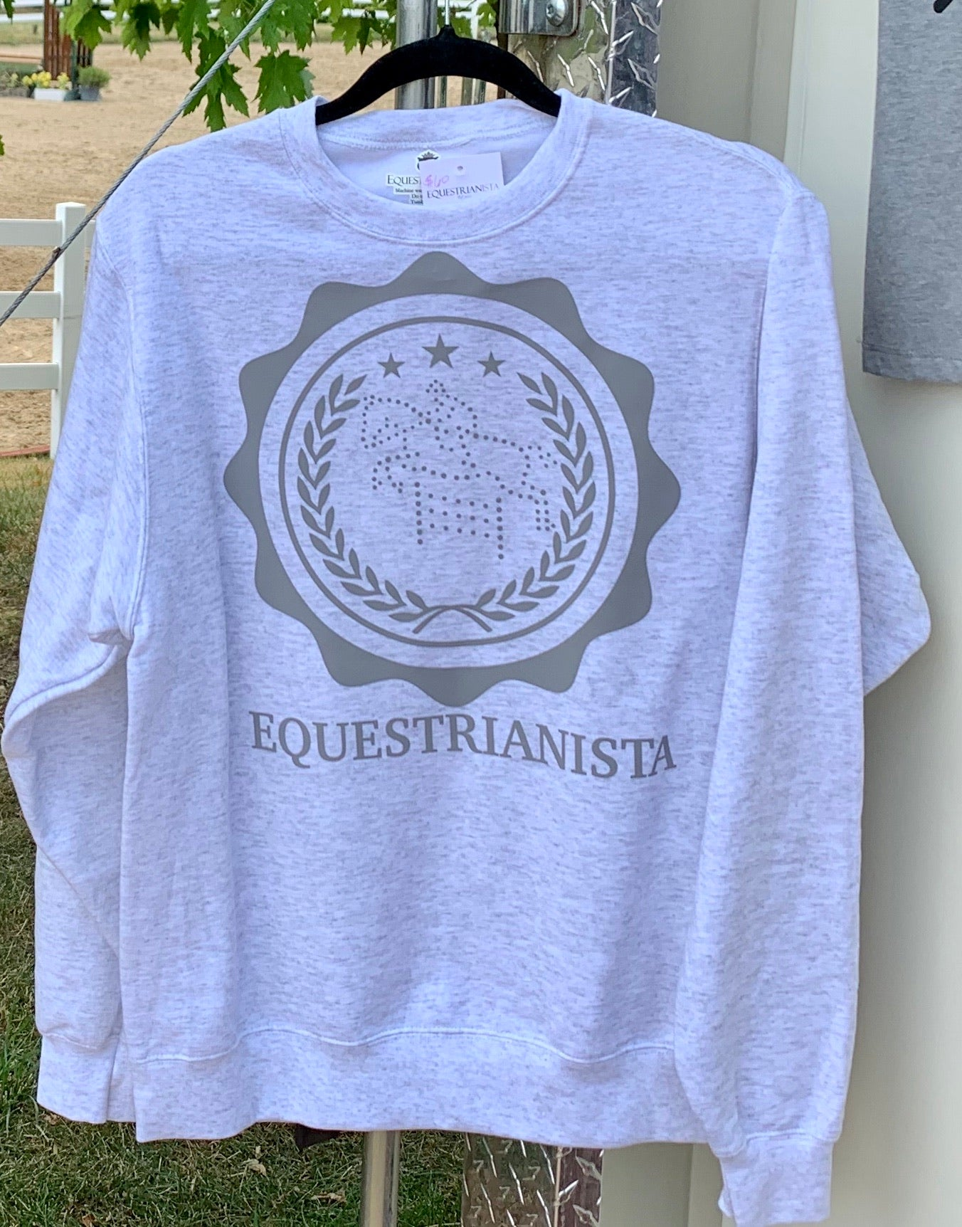 Equestrian Riding Boot T-shirt in Black by Equestrianista.