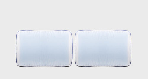 Almohadas Smartmemory Medium Cool Duo vista frontal fondo blanco