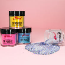 Load image into Gallery viewer, Dip Powder Nail Kit with Glitter Dip Powder Colors