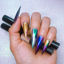 Load image into Gallery viewer, Chrome Nail Powder - 6 Color Holographic Nail Powder Pen