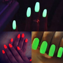 Load image into Gallery viewer, Dip Powder Nail Kit with Glow in the Dark Dip Powder Colors