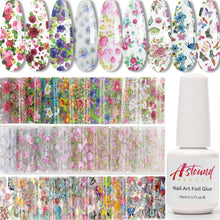 Load image into Gallery viewer, Nail Art Foil Decoration All-in-One Set
