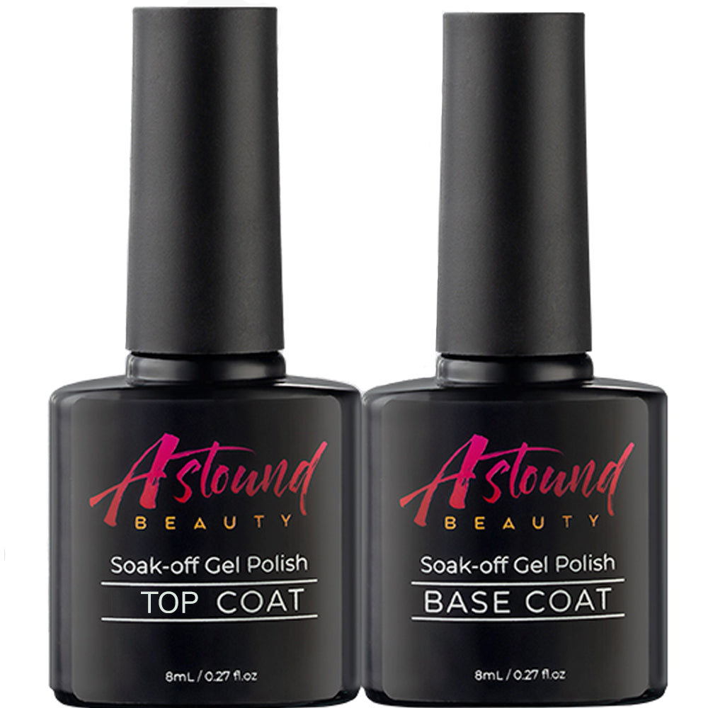 Top Base Coat Set for Gel Nail Polish and Polygel