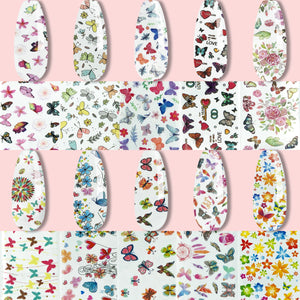 Nail Art Foil Decoration All-in-One Set