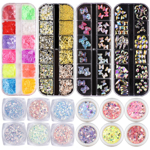 Mixed Shape of Nail Decal Set