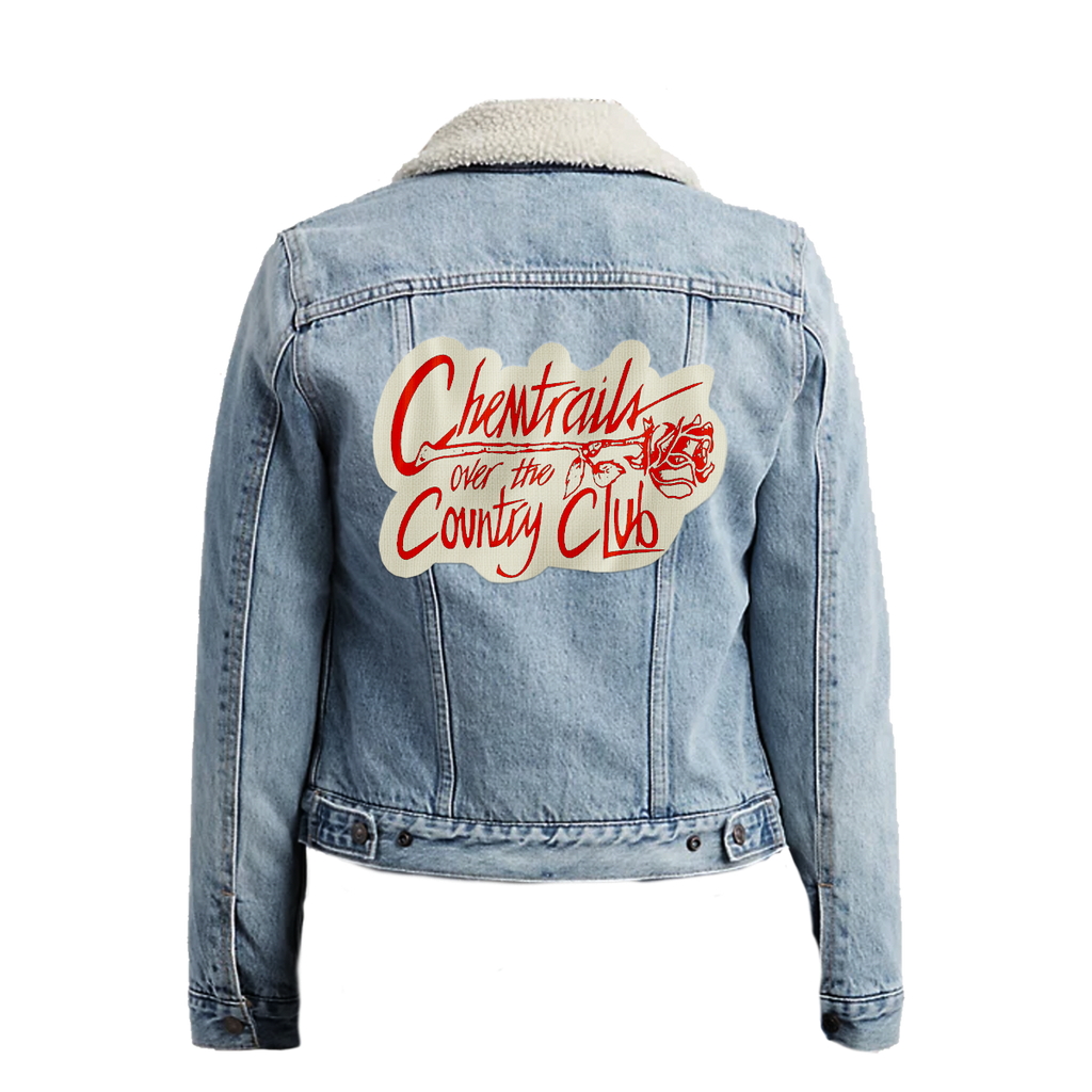Chemtrails Over the Country Club Levi's Denim Jacket