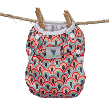 Load image into Gallery viewer, Reusable Swim Diaper- Boho Rainbow LARGE