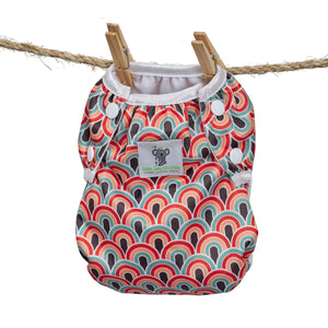 Reusable Swim Diaper- Boho Rainbow LARGE