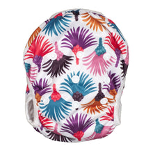 Load image into Gallery viewer, Reusable Swim Diaper & Waterproof Wet Bag- Carnival Feather