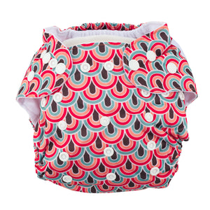 Modern Cloth Diaper (Pocket-OSFM)- 0-3 yrs- Boho Rainbow