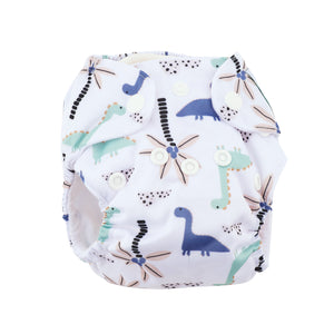 Modern Cloth Diaper (Pocket-OSFM)- NEWBORN 0-3months- Dino