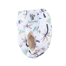 Load image into Gallery viewer, Modern Cloth Diaper (Pocket-OSFM)- NEWBORN 0-3months- Dino