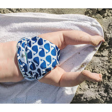 Load image into Gallery viewer, Reusable Swim Diaper- Blue Whale