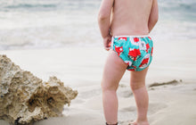 Load image into Gallery viewer, Reusable Swim Diaper Bundle - Set of 2 - Octopus & Fox