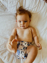 Load image into Gallery viewer, Modern Cloth Diaper (Pocket-OSFM)- 0-3 yrs- Peacock