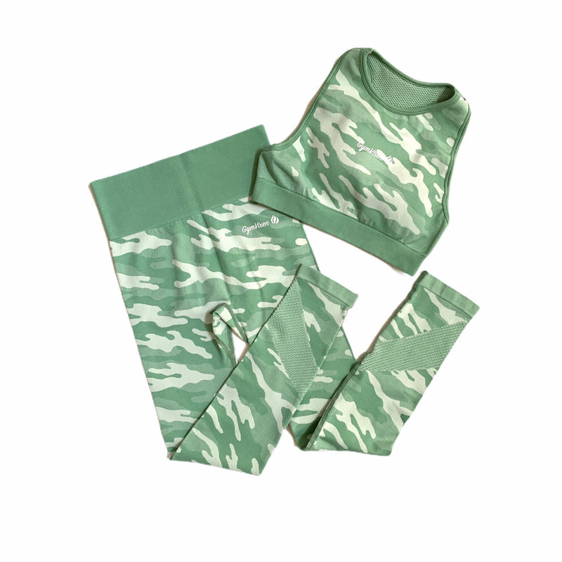 The Eos Camo Bra