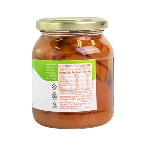 Absolute Organic Apricots In Juice 350g ACO