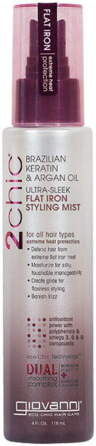 Giovanni 2Chic Ultra Sleek Flat Iron Styling Mist 118ml