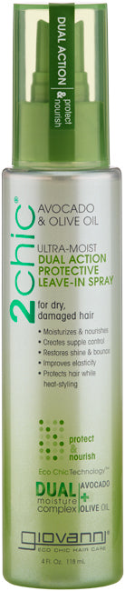 Giovanni 2Chic Ultra Moist Dual Action Protective Leave In Spray 118ml