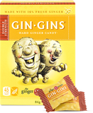The Ginger People Gin Gins Hard Ginger Candy 84g Double Strength