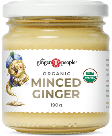 The Ginger People Organic Minced Ginger 190g