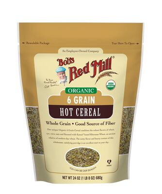 Bob's Red Mill 6 Grain Right Stuff Hot Cereal 680g Organic