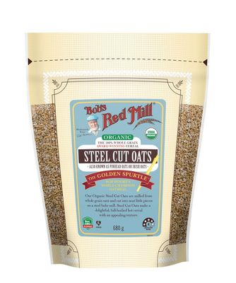 Bob's Red Mill Whole Grain Steel Cut Oats 680g Organic