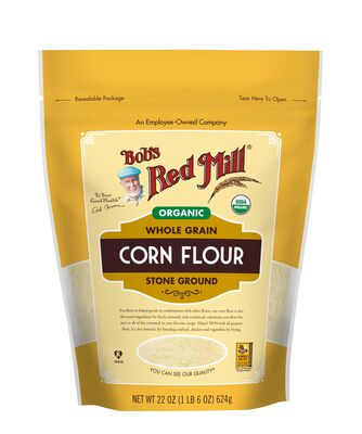 Bob's Red Mill Wholegrain Corn Flour 680g Organic