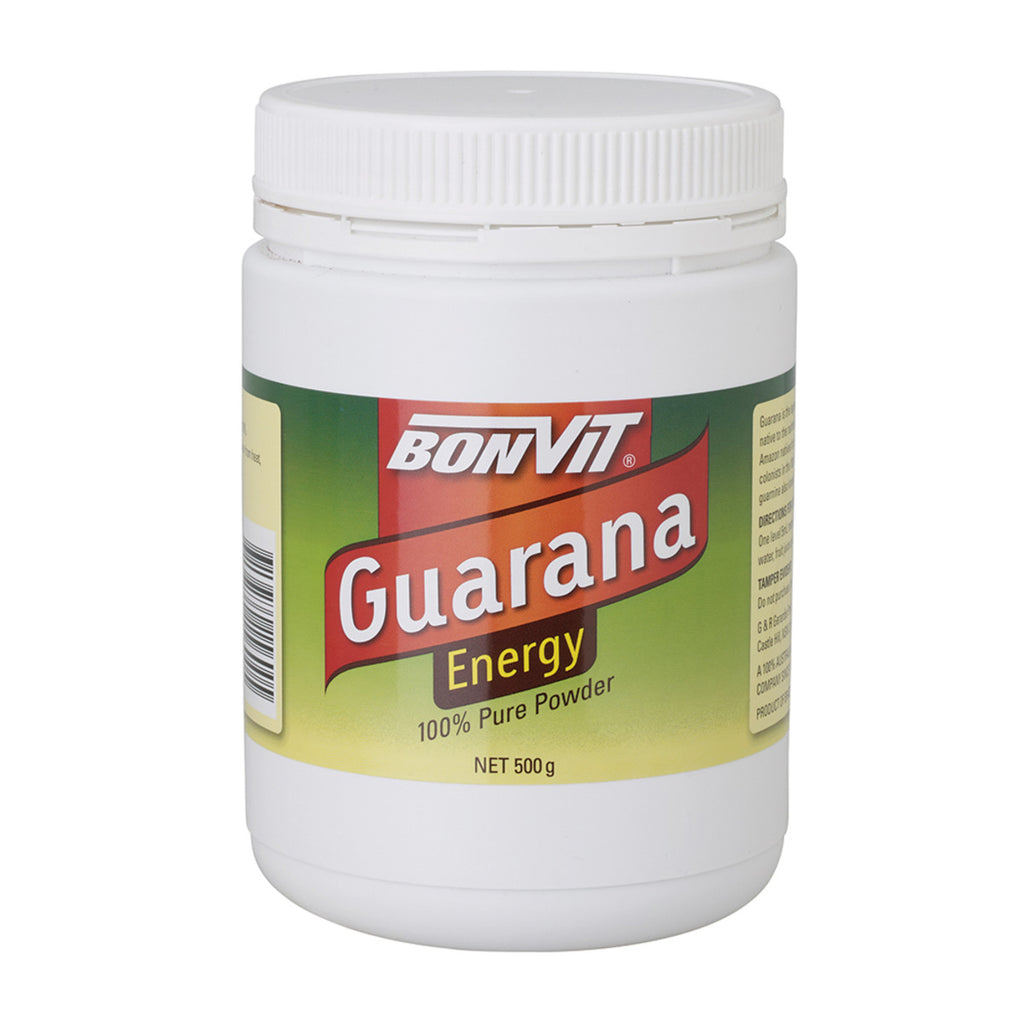Bonvit Guarana Energy 100% Pure Powder, 100g, 200g Or 500g