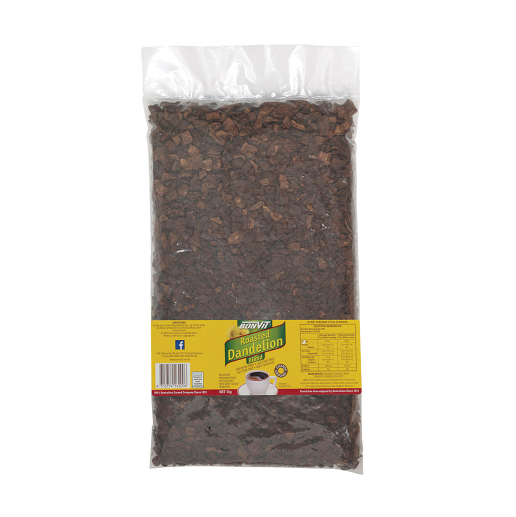 Bonvit Roasted Dandelion Blend Coarse 150g Or 1 Kg, Caffeine Free