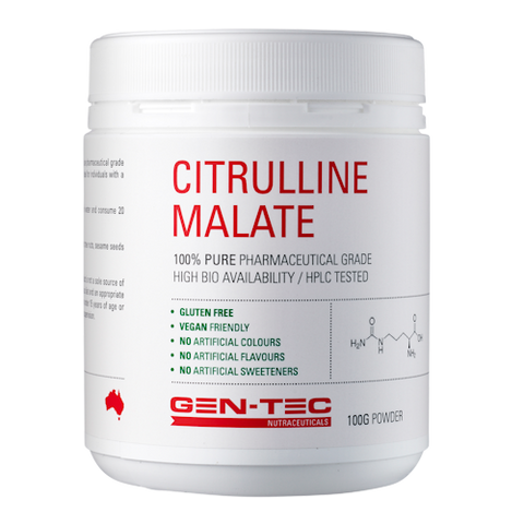 Gen-Tec Nutrition Citrulline Malate 100g Powder
